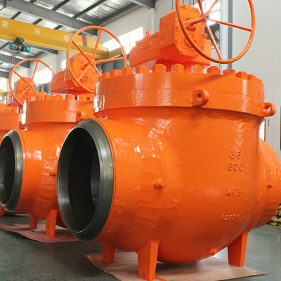Cast Top Entry Ball Valve