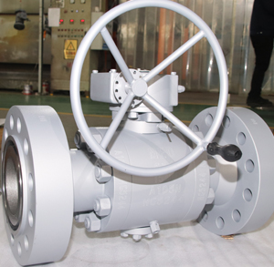 Forged Steel Ball Valve, CL1500, 6X4 Inch