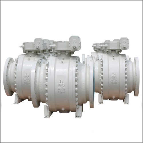 Flanged Trunnion Ball Valve, PN600, 26 Inch