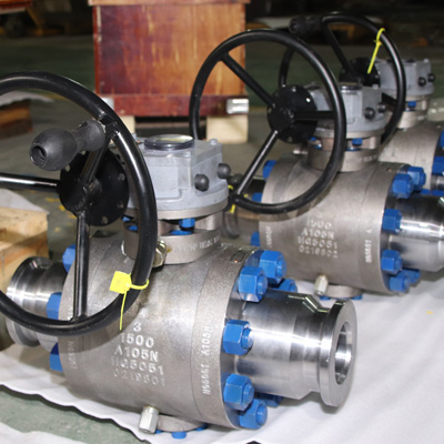 Trunnion Mounted Ball Valve, 3Inch, CL1500, RF, F51