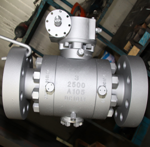 Trunnion Mounted Ball Valve, CL2500, 3 Inch, RF