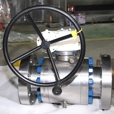 Trunnion Mounted Ball Valve, ASTM A105, 4 Inch, 900 LB