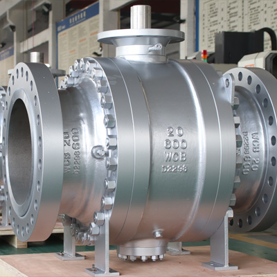 Trunnion Mounted Ball Valve,20 Inch, CL600, RF, WCB