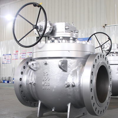 Top Entry Ball Valve WCB, API 6D, 20IN, CL600, RF